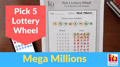 win  mega millions lottery pick  lottery wheel