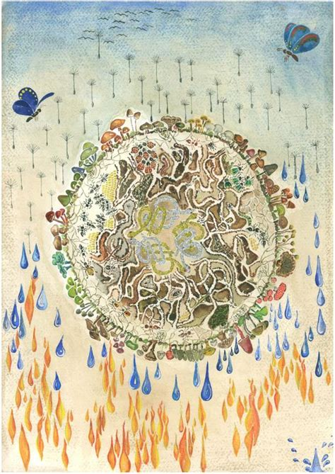 earth wind water four elements