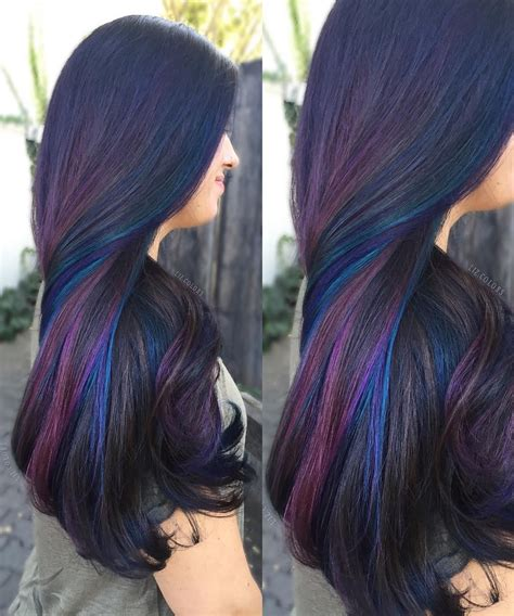 Oil Slick Hair Fashony Things Oil S