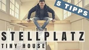 Tiny House Stellplatz : tiny house stellplatz finden 5 tipps max green tiny house deutschland youtube ~ Frokenaadalensverden.com Haus und Dekorationen