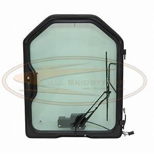 Bobcat Loaded Door W Wiper Glass T110 T140 T180 T190 T200 T250 T300 T320 Skid