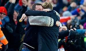 Watch: Reds fan gets a big hug from Jürgen Klopp ...