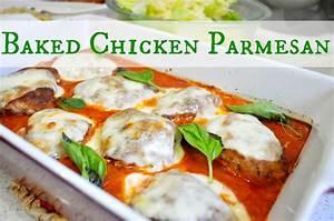 Suburbs Mama: Baked Chicken Parmesan