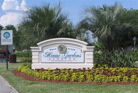 city of miami gardens sign monument graphics 3 d embossed on the best sign