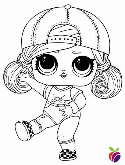 Lol Coloring Pages Surprise Dolls Printable Series