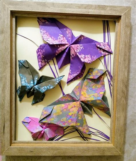 5 out of 5 stars (991) $ 22.99. Hand painted origami butterfly wall art
