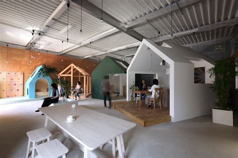 omihihachiman workspace alts design office archdaily