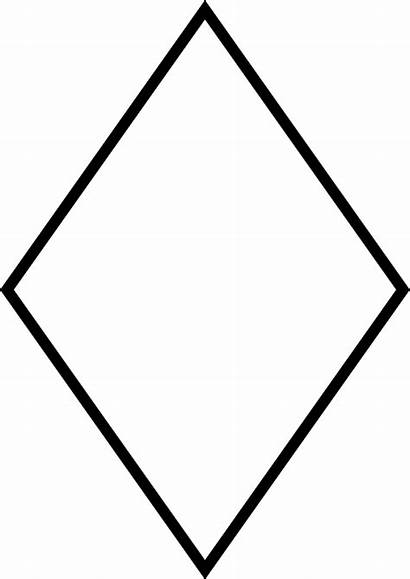 Rhombus Svg Wikimedia Commons Outline Printable Template