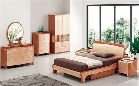 Modern Wood Bedroom Furniture by Wood Modern High End Furniture With Storage