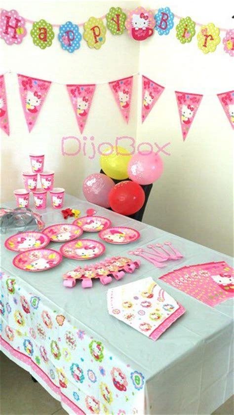 Neon Hello Kitty Party Decorations