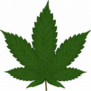 Cannabis Leaf Clip Art at Clker.com - vector clip art ...