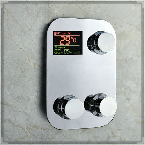 digital thermostatic temperature sensitive   shower