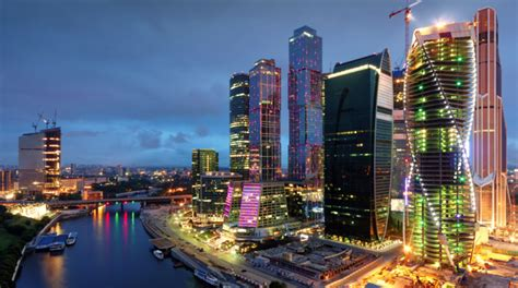 places    panoramic view  moscow russia