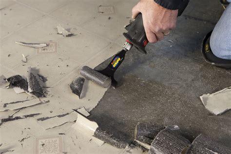removing sheet vinyl flooring