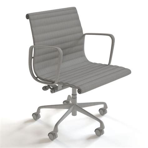 herman miller eames management chair 3d model max fbx