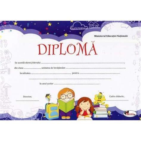 Diploma Format by Diploma Format A4 Model Imagine Ghiozdan Cu Doi Copii
