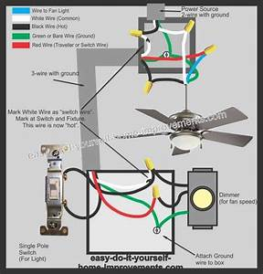 Ceiling Fan Wiring Diagram Uk