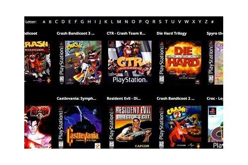 lista de jogos ps1 baixar gratis