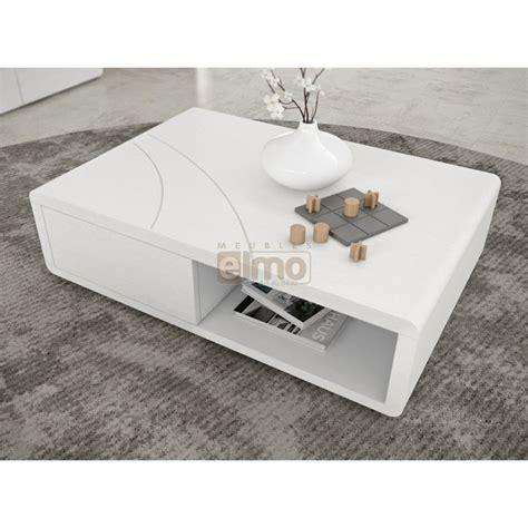 table basse contemporaine table basse design contemporaine laque niche rangement carrie