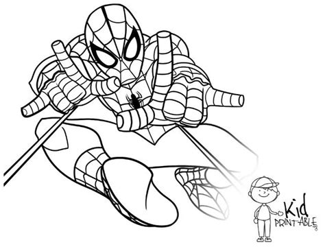 Spiderman Coloring Pages!