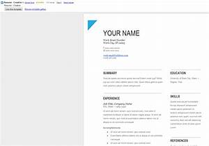 How to create professional looking resume with google docs for Can you make a resume on google docs