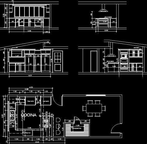 Kitchen in AutoCAD   Download CAD free (98.42 KB)   Bibliocad