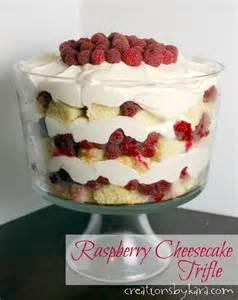 Raspberry Cheesecake Trifle Recipe