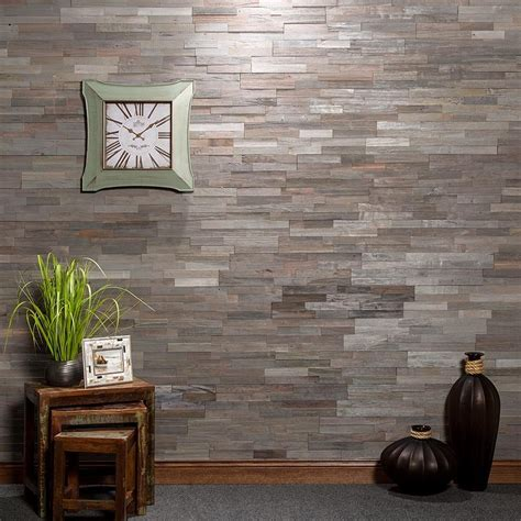 Peel And Stick Tiles by Aspect Peel And Stick Wood Tile In Weathered Barn