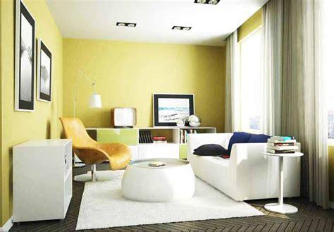 perpaduan warna cat rumah bagian  kuning desain