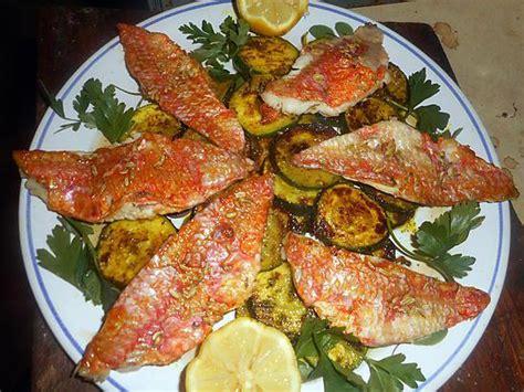 cuisiner les courgettes à la poele recette de filet de rouget courgette à la marocaine