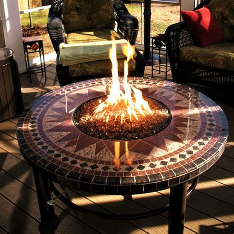 You may even want to incorporate a fire pit table into your outdoor bar. Outdoor Round Fire Pit Coffee Table - Coffee Table Design Ideas