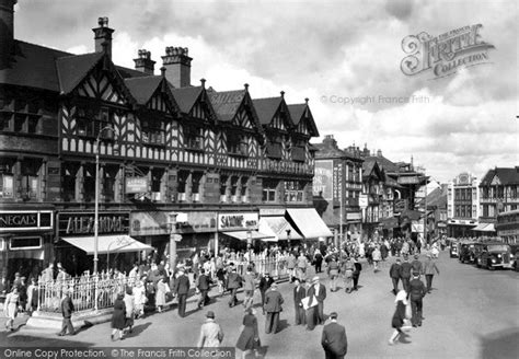 Photo of Wigan, Market Place c.1955 - Francis Frith