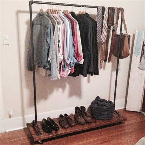 custom garment rack rustic clothes racks los angeles