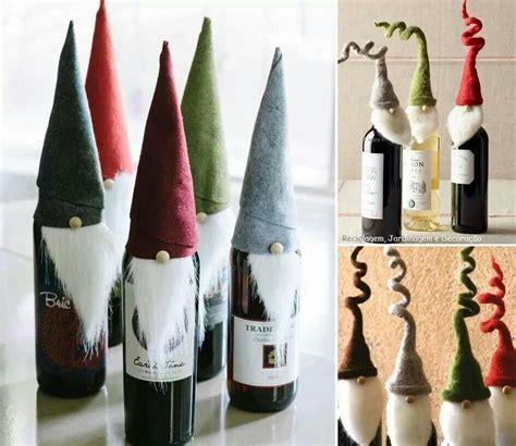 geniale idee fuer flaschen  weihnachten geschenke