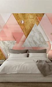 Free Shipping Custom abstract mural painting geometric ...