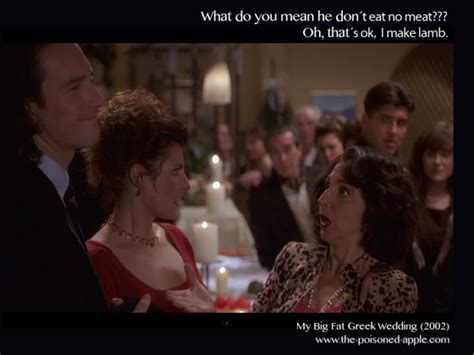 My Big Fat Greek Wedding Quotes.Big Fat Greek Wedding Quotes Vegetarian