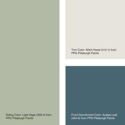 Red Kitchen Paint Ideas - exterior color of the week 6 ways with sage green