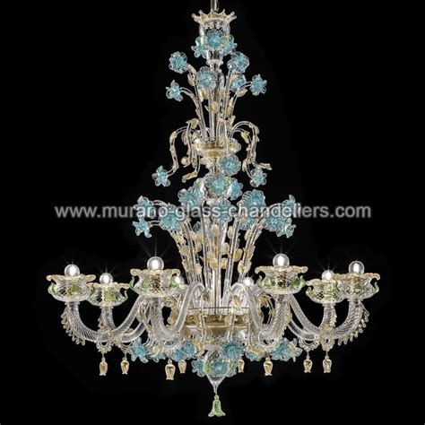 Glass Chandelier by Quot Celeste Quot Murano Glass Chandelier Murano Glass Chandeliers
