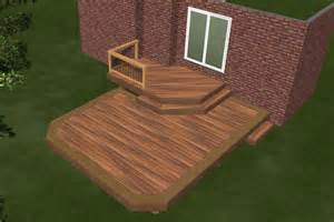 Beautiful Two Level Deck by Deck Plan 2r11007 Diy Deck Plans
