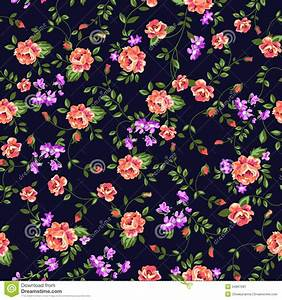 Pretty Ditsy Roses Stock Image - Image: 34967581