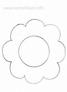 Blumen Basteln Vorlage : blume bastelvorlage basteln mit kindern pinterest basteln basteln mit kindern und ~ Frokenaadalensverden.com Haus und Dekorationen