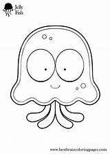 Coloring Inchworm Sheets Jellyfish Pages Preschool Printable Cartoon Jokes Template Fish Colouring Bratz Getcolorings Ocean Getdrawings Animal sketch template