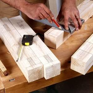 Fabriquer Tenon Mortaise : comment fabriquer un banc en bois massif bricobistro ~ Premium-room.com Idées de Décoration