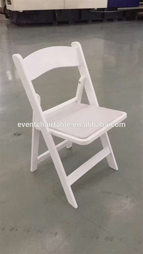 colorful white resin folding chair for wedding sale buy