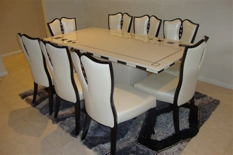 marina marble dining table with 8 chairs marble king