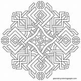 Coloring Illuminati Printable Geometry Mandala Geometric Geometrical Adult Square Sheets Books Mosaic Patterns Origami Pattern Designs Logic Designlooter Getcolorings Report sketch template