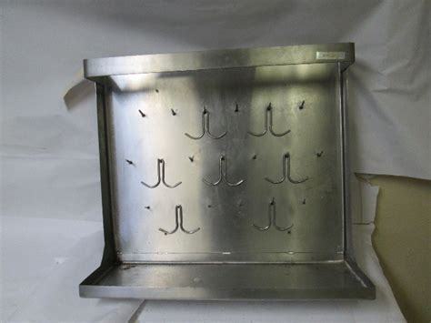 edwards   stainless steel wall mounted dish drying rack pot pan utensil