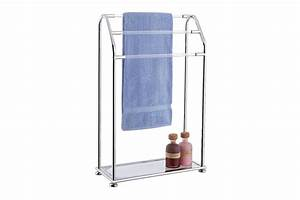 25 Photo Of Free Standing Towel Rack