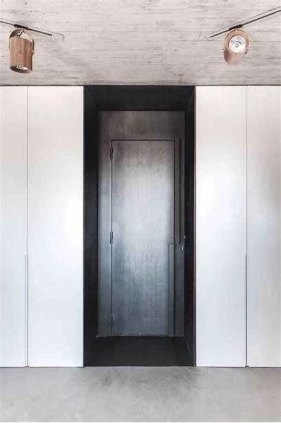 Penthouse Duplex Aviv Tel Toledano Architects Door