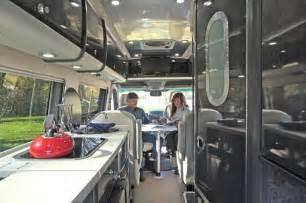 Inside Small RV Class B Motorhomes